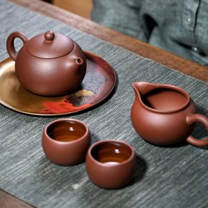 Исинский чайник Си Ши ручной работы 200 мл, 270 мл_11