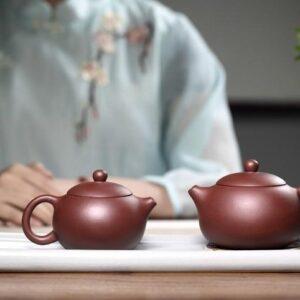 isinskij chajnik si shi ruchnoj raboty purpurnaja glina czy ni 200 ml 01 ilovetea - интернет-магазин хорошего чая