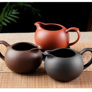 Чахай для чайной церемонии из исинской глины цзы ни, ручная работа