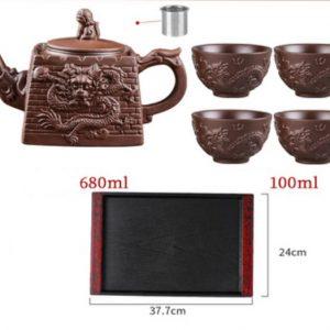 заварочный чайник из исинской глины 44 ilovetea - интернет-магазин хорошего чая