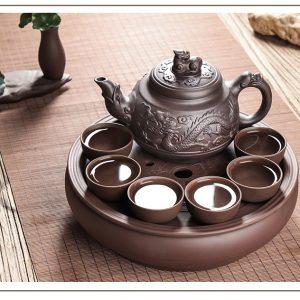 исинский чайник для чайной церемонии исинская глина цзы ни 6 чашек 14 ilovetea - интернет-магазин хорошего чая