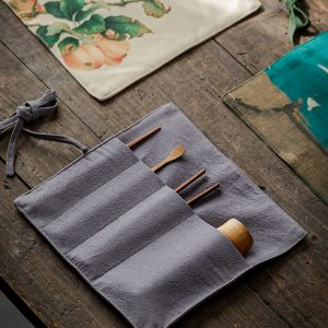 Набор чайных аксессуаров для чайной церемонии: чайный пинцет, бамбуковые щипцы для чая